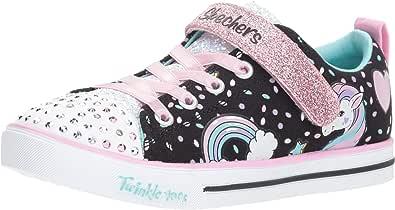 Skechers Unisex-Child Boys Girls - Sparkle Lite-Unicorn Craze