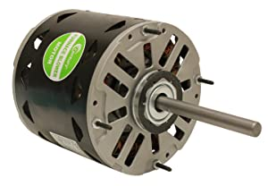 A.O. Smith/Century DL1056 1/2 HP, 1075 RPM, 3 Speed, 115 Volts6.5 Amps, 48 Frame, Sleeve Bearing Direct Drive Blower Motor