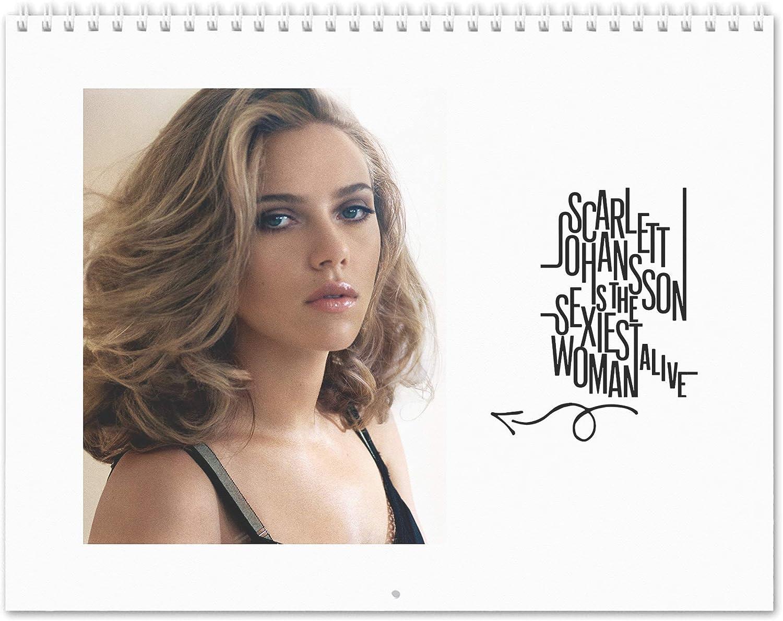Scarlett 365 Johannson Calendrier 2020 A3 Grand Format