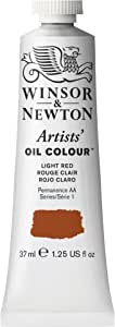 Winsor & Newton Artists' Oil Color Paint, 37-ml Tube, Light Red