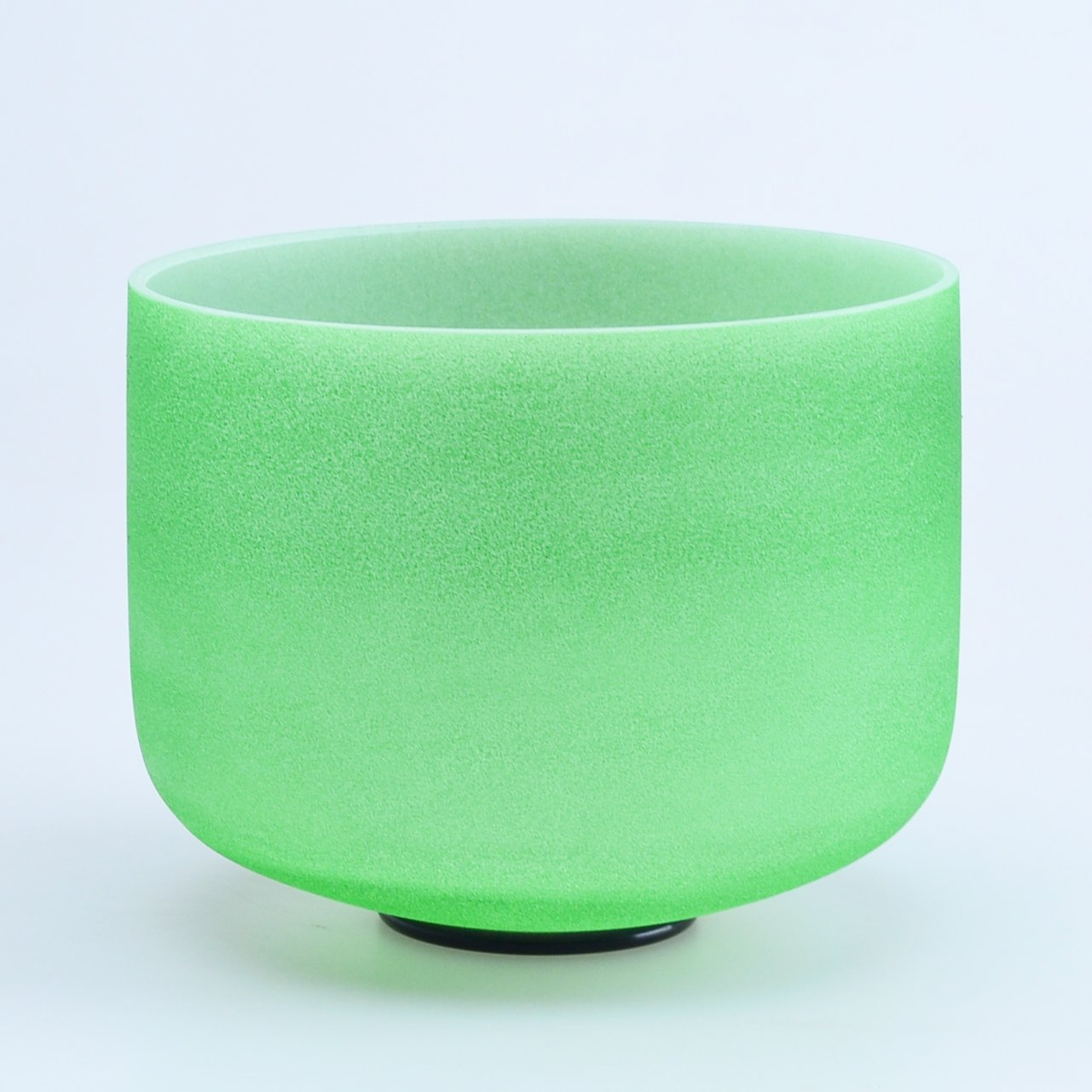 440HZ 8'' F Heart Green Chakra Quartz Crystal Singing Bowl