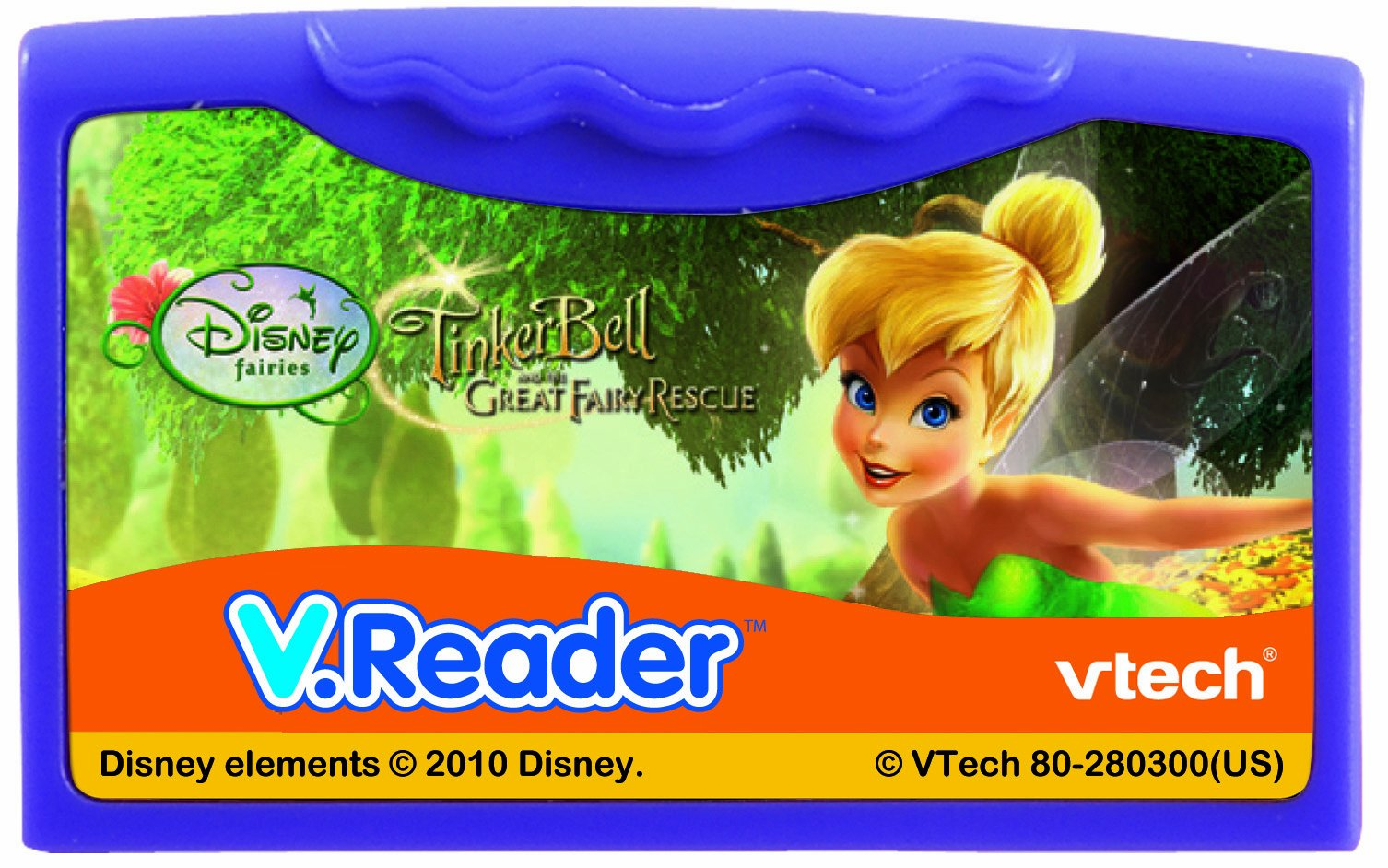 VTech - V.Reader Software - Disney's Fairies - Tinkerbell and The Great Fairy Rescue by VTech (Image #2)