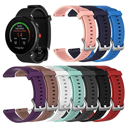 0164b35d82c Chofit Bands Compatible with Polar Vantage M Watch Band Replacement  Silicone Watch Sports Strap for Polar
