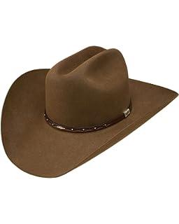 e7db72602b1 Resistol Men s George Strait by Santa Clara 6X Felt Cowboy Hat Bark 7 ...