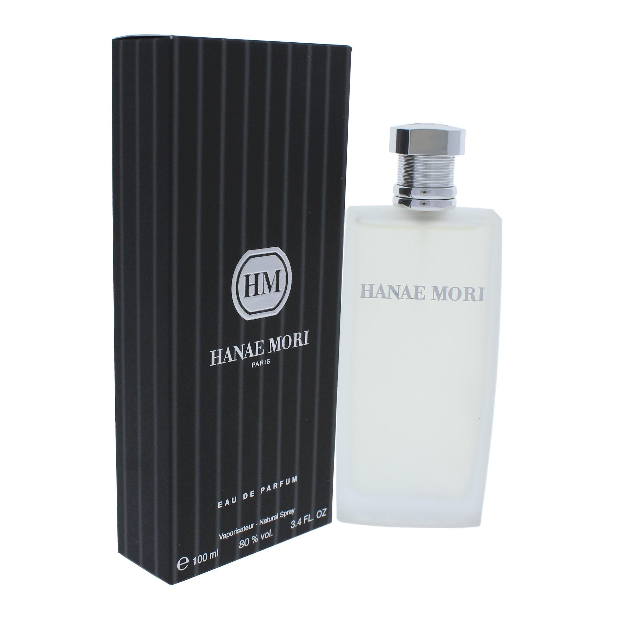 HM by Hanae Mori   Eau de Parfum Spray   Fragrance for Men   Citrusy and Woodsy Scent is Powerful, Pure, and Inviting   100 mL / 3.4 fl oz
