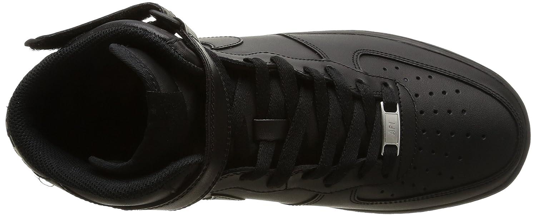 Nike Air Men's Force 1 Mid '07 Men's Air B002797SSE 7.5 D(M) US|Black 933600