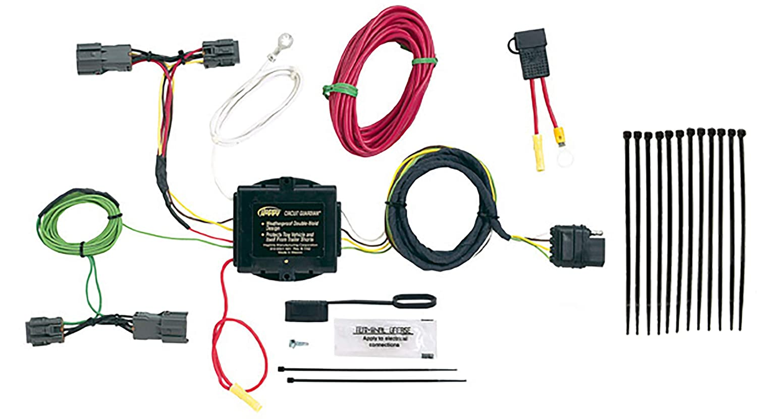 Hopkins 43914 Plug-In Simple Vehicle Wiring Kit Hopkins Towing Solution