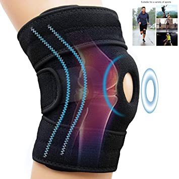 Kniestütze Einstel Knieschoner NAKOS Sports Medizinische Sport Kniebandage