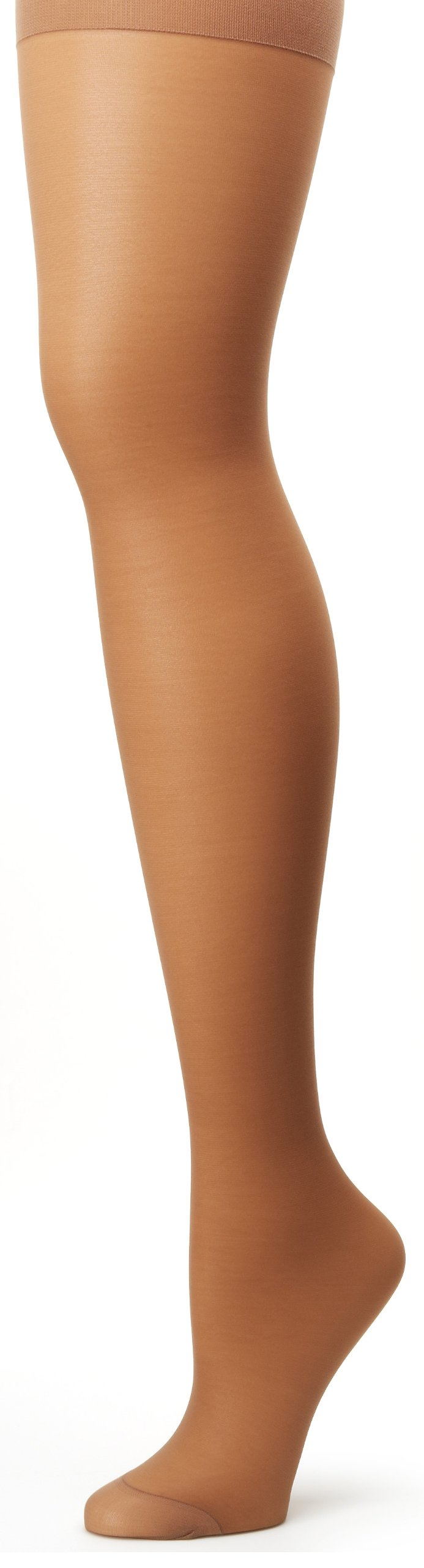 Hanes Alive Full Support Control Top R-Toe Pantyhose 2Pack_Barely There_C