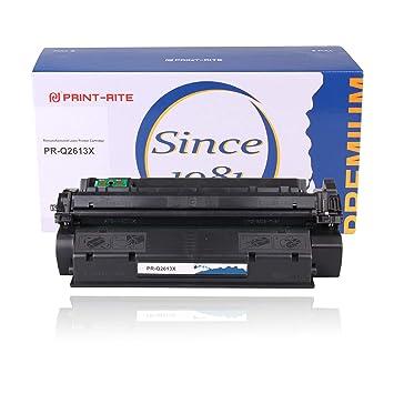 Print-Rite Compatible HP Toner q2613x q2613a 13a Negro Cartucho de tóner Tinta para Impresora HP Laserjet 1300 Series 1300n 1300xi Impresora