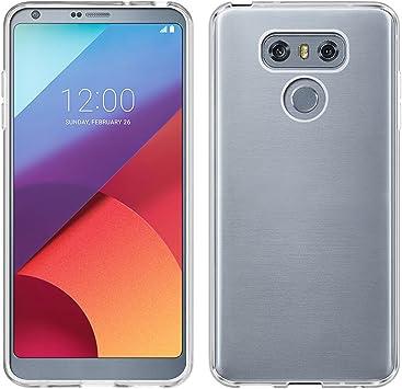 TBOC® Funda de Gel TPU Transparente para LG G6 H870 (5.7 Pulgadas ...