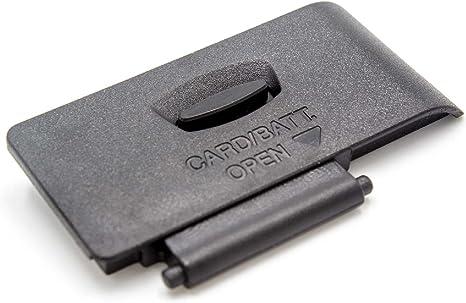 vhbw Tapa de batería de Repuesto para la cámara Canon EOS 1100D ...