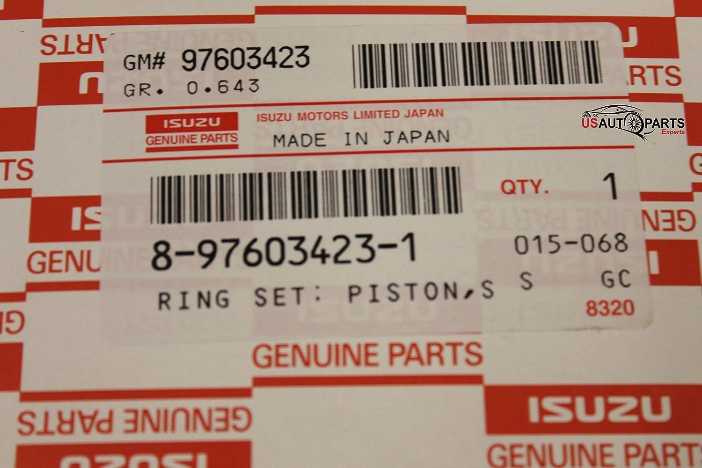 For ISUZU 5.2L 4HK1 7.8L 6HK1 NPR NPR-HD NQR NRR FVR FTR 4rings Piston Ring