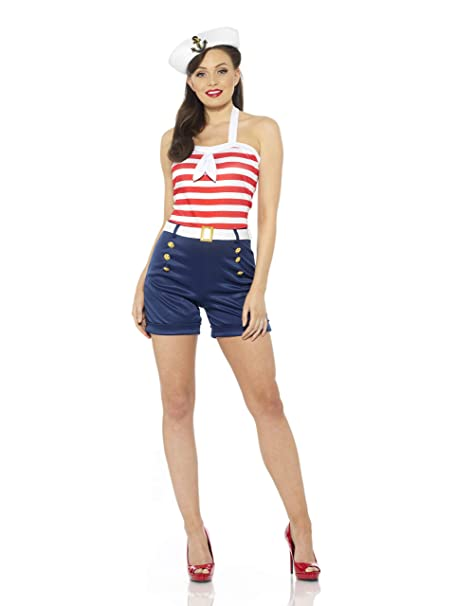 Amazon.com: Pitches Sweet Sailor - Disfraz de marinera para ...
