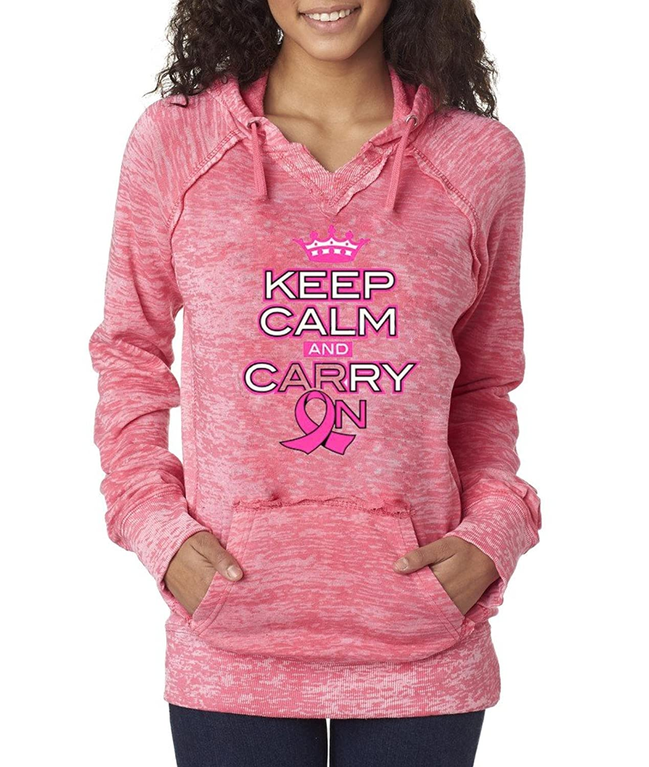hot sale Keep Calm And Fight Back T-shirt Breast Cancer Awareness