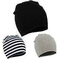 American Trends Unisex Cotton Beanie Hat Girl Boy Toddler Kids Children Soft Cap