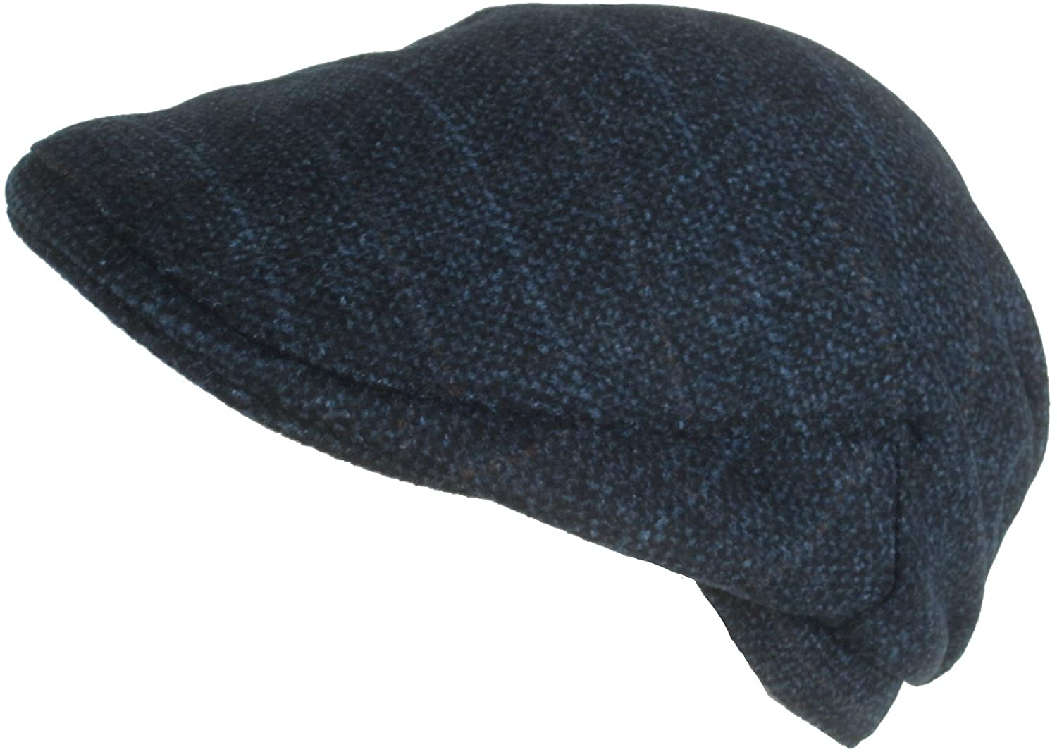 49a7caf40ad Cappello Wool Blend Plaid Winter Ivy Cap (Brown