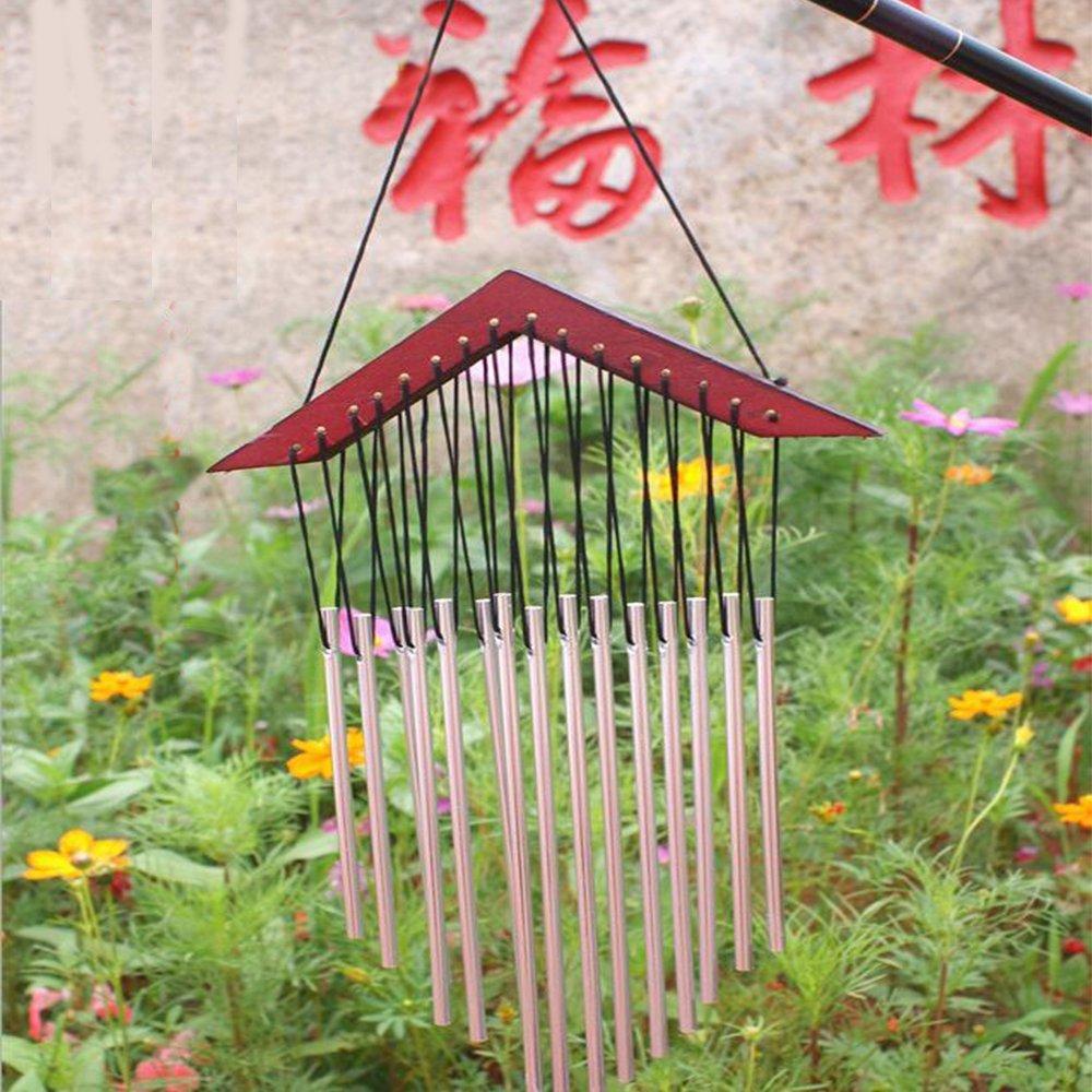 Sunfire Fengshui Wind chime Windbell White WoodStock Garden Door Wall Moon Star