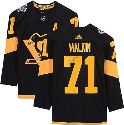 malkin autographed jersey