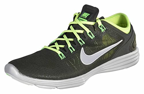 best authentic 824b0 f23eb Amazon.com  NIKE Women s WMNS LUNARHYPERWORKOUT XT, SQUADRON REFLECT  SILVER-VOLT-ELECTRIC GREEN, 9 M US  Sports   Outdoors