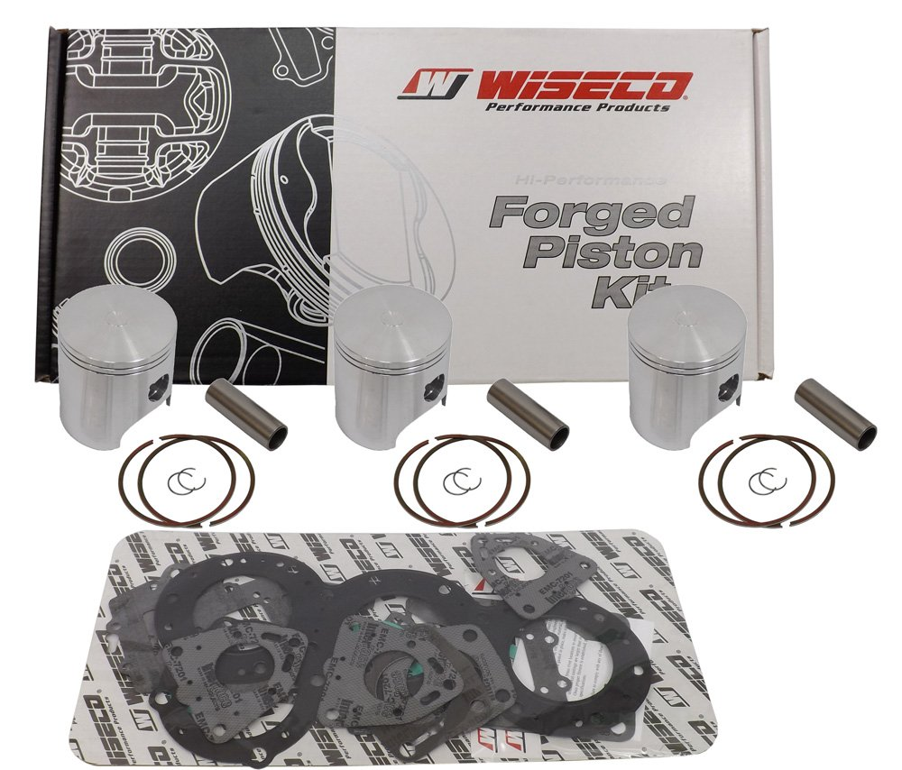 69.00mm 2-Stroke Piston Kit for Yamaha Snowmobile SK1270 Wiseco
