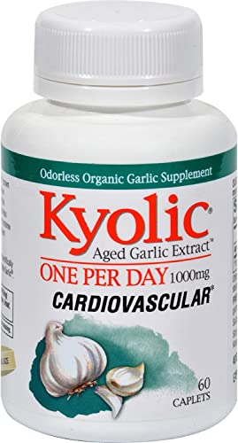 Kyolic Aged Garlic Extract One Per Day Cardiovascular
