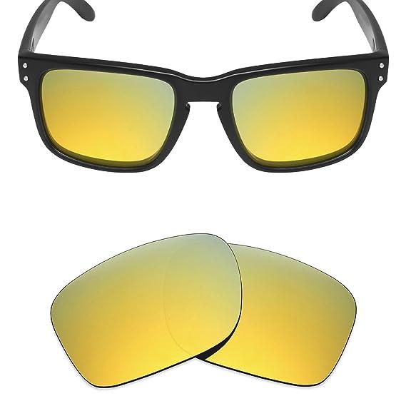 f62830d0f6d51 MRY Lentes polarizados de Repuesto para Gafas de Sol Oakley Holbrook,  Variedad de Colores,