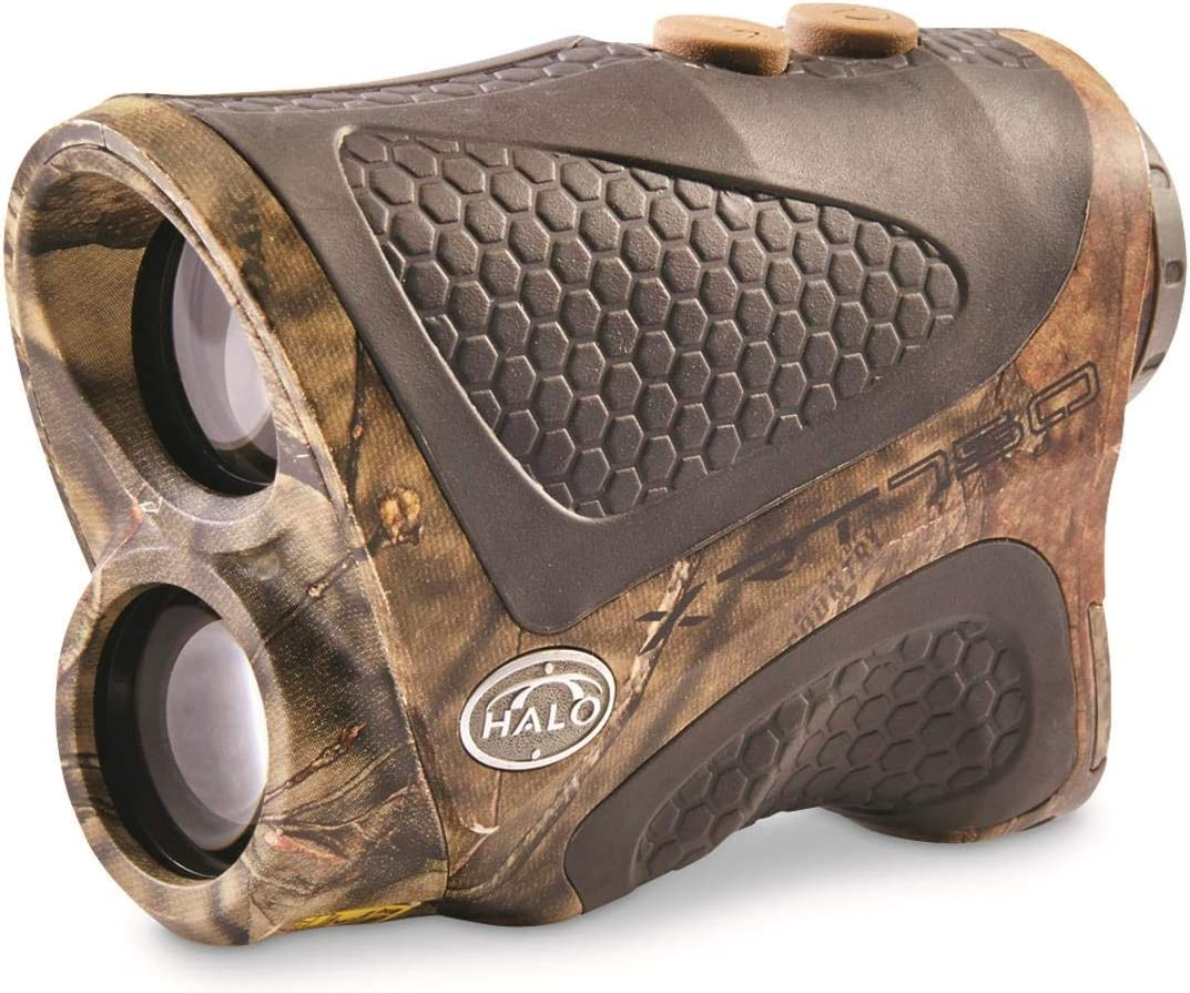 Halo XRT 750 Yard Laser Rangefinder, Mossy Oak Break-Up Country Camo