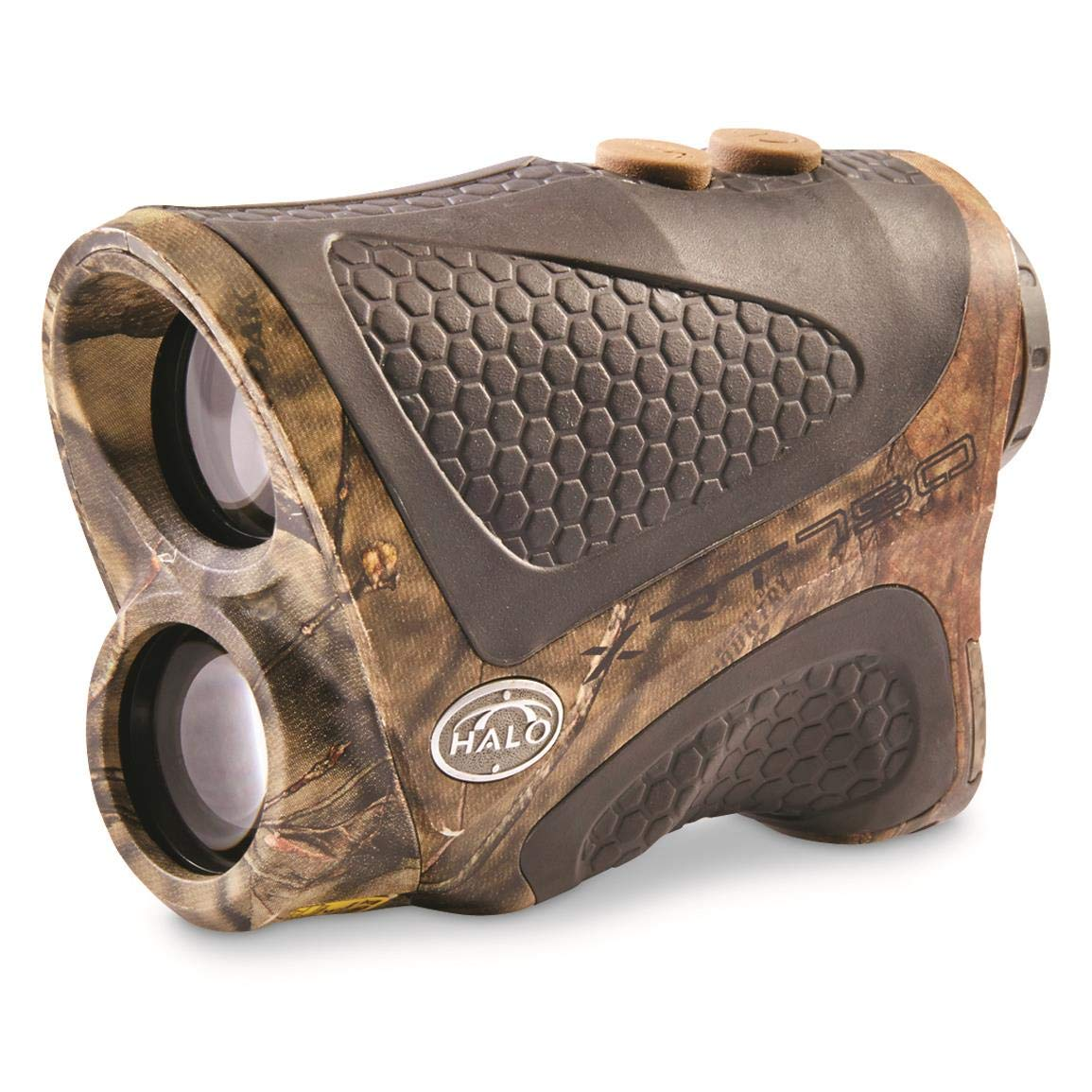 Halo XRT 750 Yard Laser Rangefinder, Mossy Oak Break-Up Country Camo by Halo
