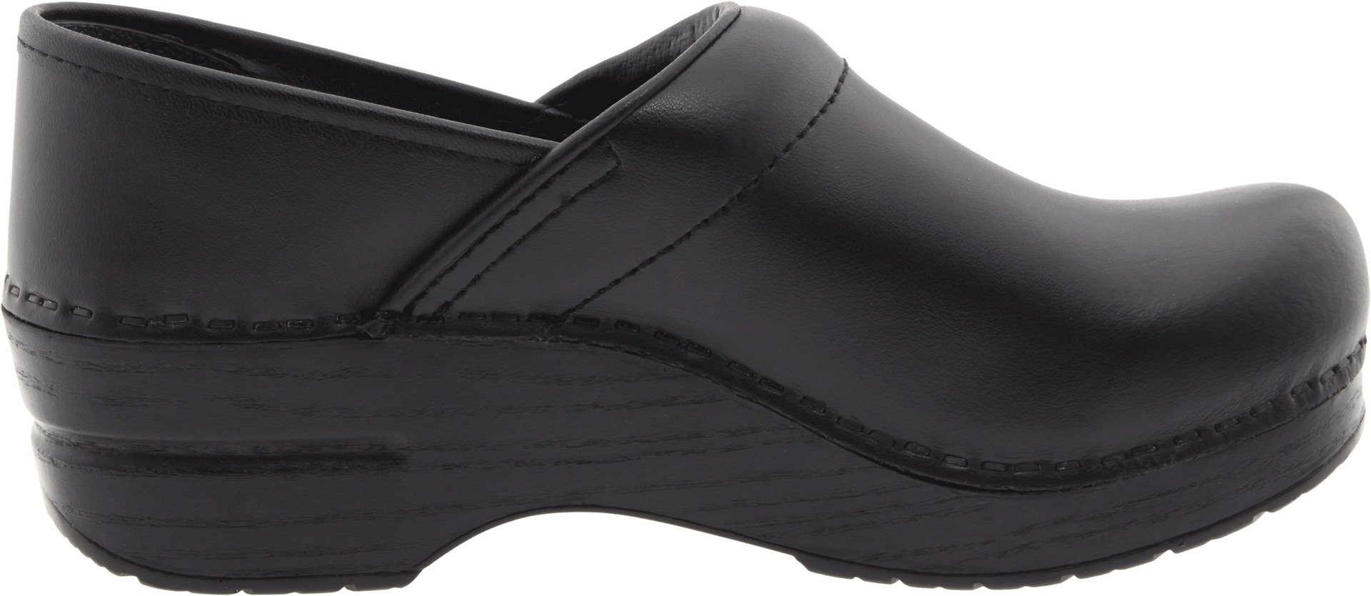 Dansko Women's Wide Professional Clog,Black Box,38 W EU / 7.5-8 D(W) US by Dansko (Image #6)
