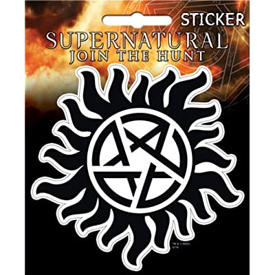 "Ata-Boy Supernatural Anti-Possession 4"" Full Color Sticker: Arts, Crafts & Sewing"
