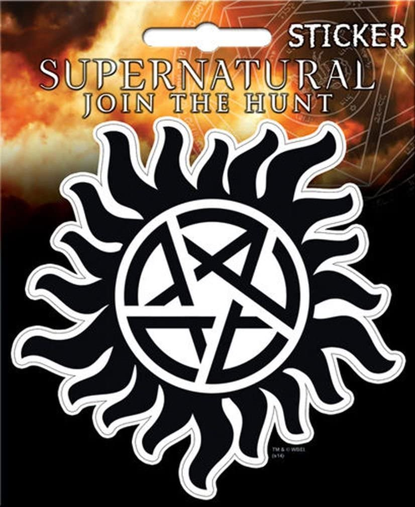 "Ata-Boy Supernatural Anti-Possession 4"" Full Color Sticker"