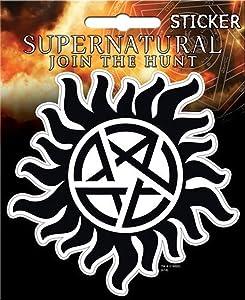 "Ata-Boy Supernatural Anti-Possession 4"" Full Color Sticker"