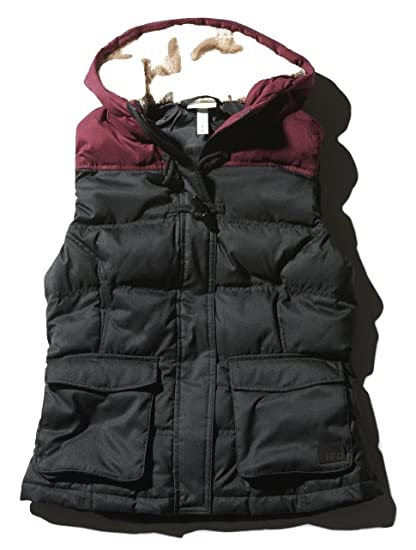 78e1d86fe adidas Women's Sherpa Down Gilet Ladies Winter Hooded Body Warmer M32620 (XX -Small)