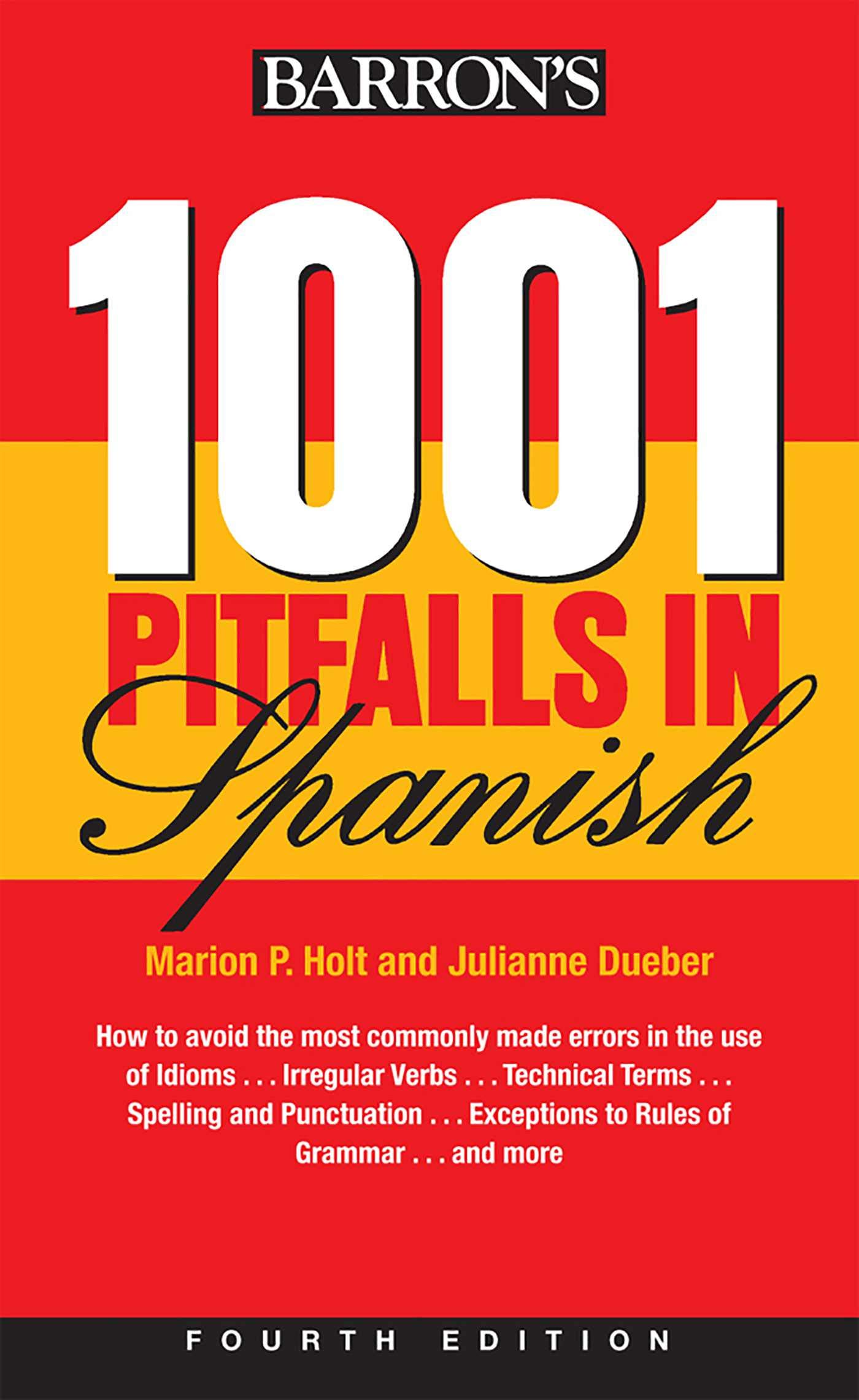 20 Pitfalls In Spanish Barron's Foreign Language Guides  Holt ...