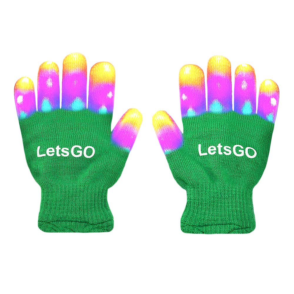 My-My Christmas Toys per 5-10 anni Finger Light Lampeggiante Led Cool Toys per 3-10 Years Old hot top giocattoli di natale 2018 per Birthday Party Present Pink MMJSST08
