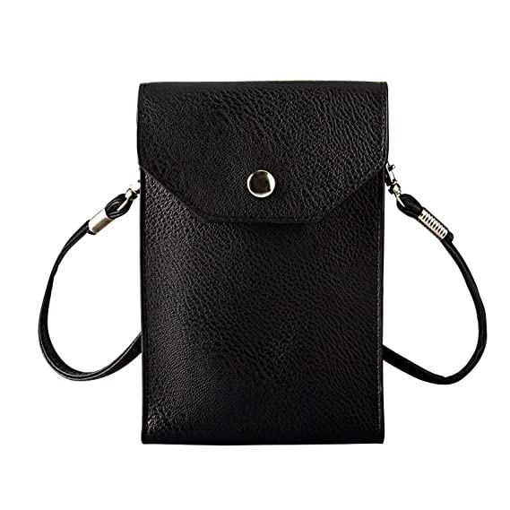 438801ee7b Cross Body Cell Phone Purse Wallet Smartphone Bags for Women Girls - Dteck  Fashion PU Leather