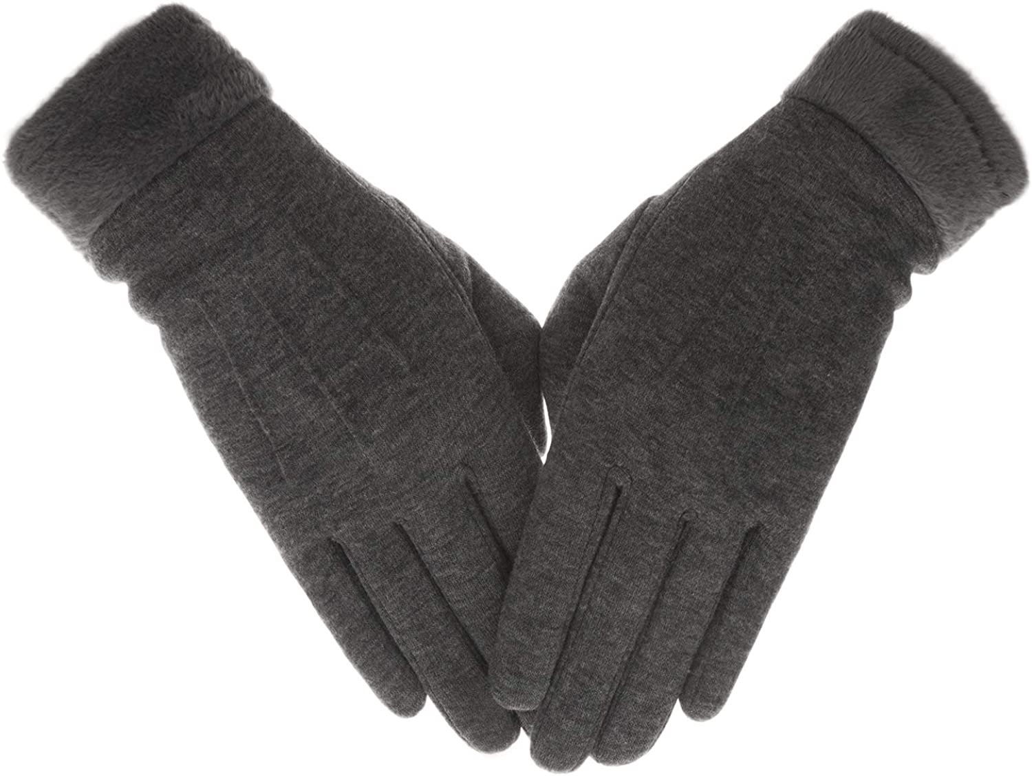 Knolee Gloves Plush Texture...