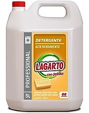 Lagarto Detergente Liquido Lavadora Profesional - 5000 ml