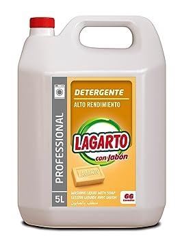 Lagarto Profesional - Detergente con Jabón, 5000 ml: Amazon.es ...