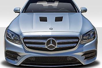 Amazon Com Extreme Dimensions Duraflex Replacement For 2014 2016 Mercedes E Class W212 Black Series Look Hood 1 Piece Automotive