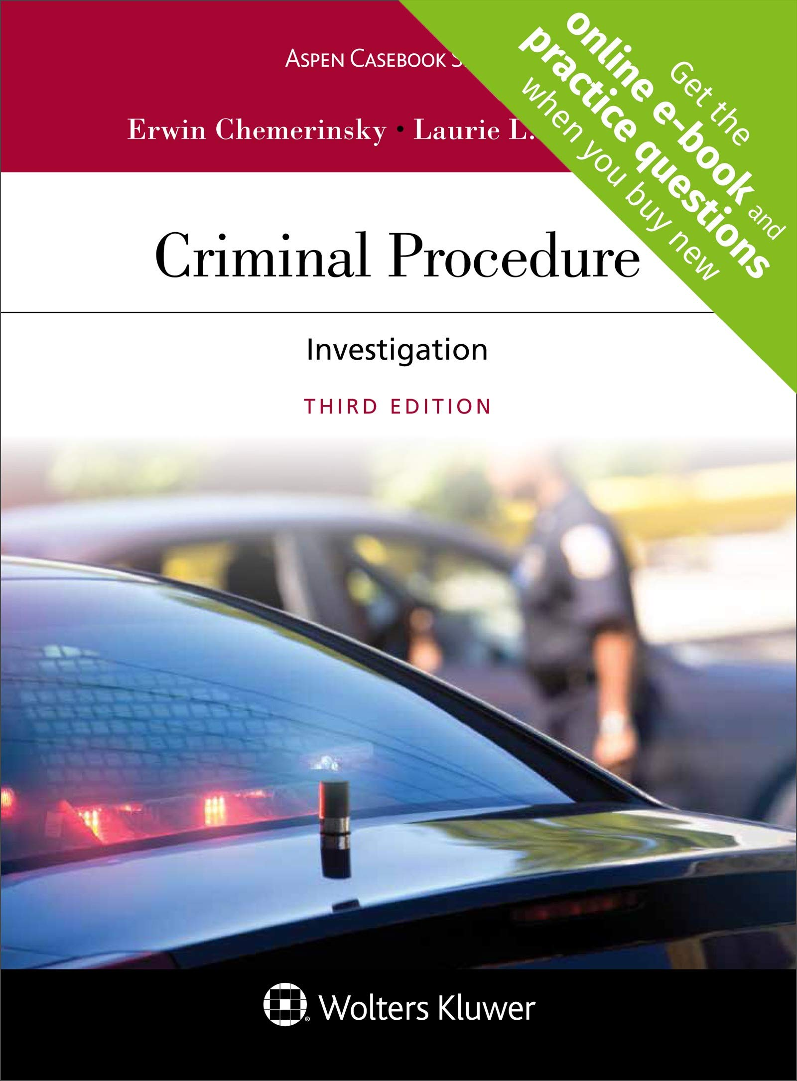 Criminal Procedure: Investigation (Aspen Casebook) by Wolters Kluwer