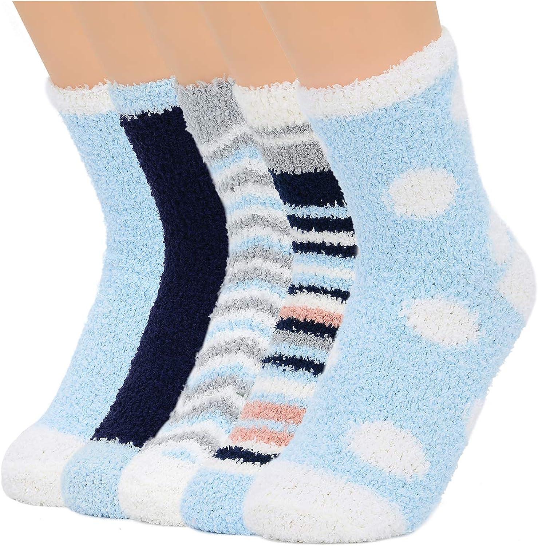 Womens Socks Fuzzy Socks Soft Fluffy Socks Warm Fleece Socks Winter Gifts Socks Sports Outdoor Sock Athletic Socks