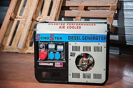 Generador de corriente diesel 3600 W – 220/380 V arranque eléctrico
