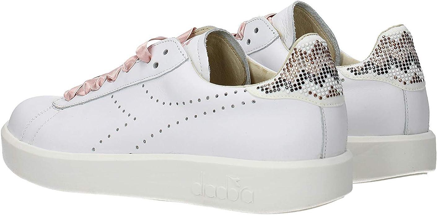 Diadora Heritage, Donna, Game W Pearls, Pelle, Sneakers, Marrone