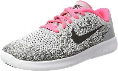 Nike Free RN 2017 GS, Zapatillas de Running para Niños, Gris (Wolf ...
