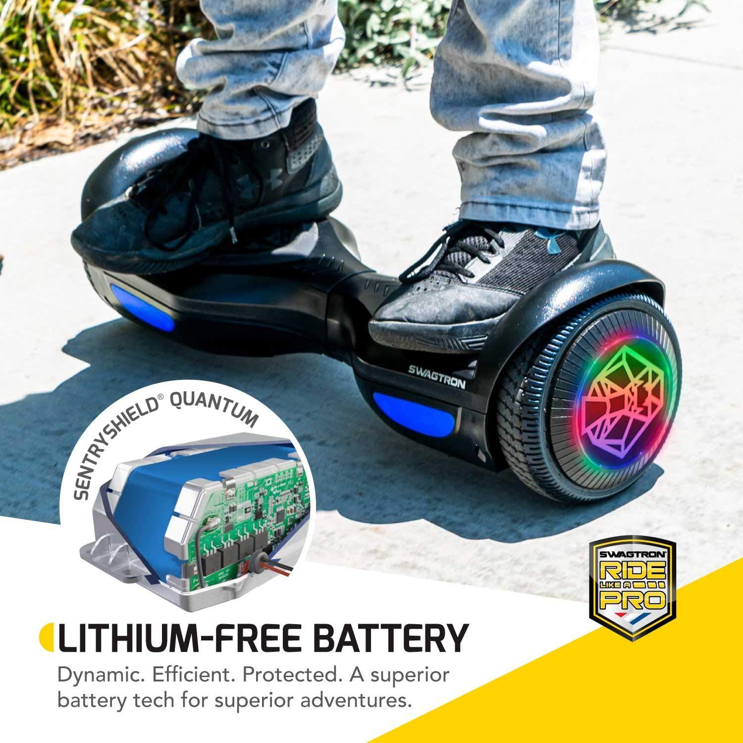 Swagboard Twist Lithium-Free Kids Hoverboard - 2