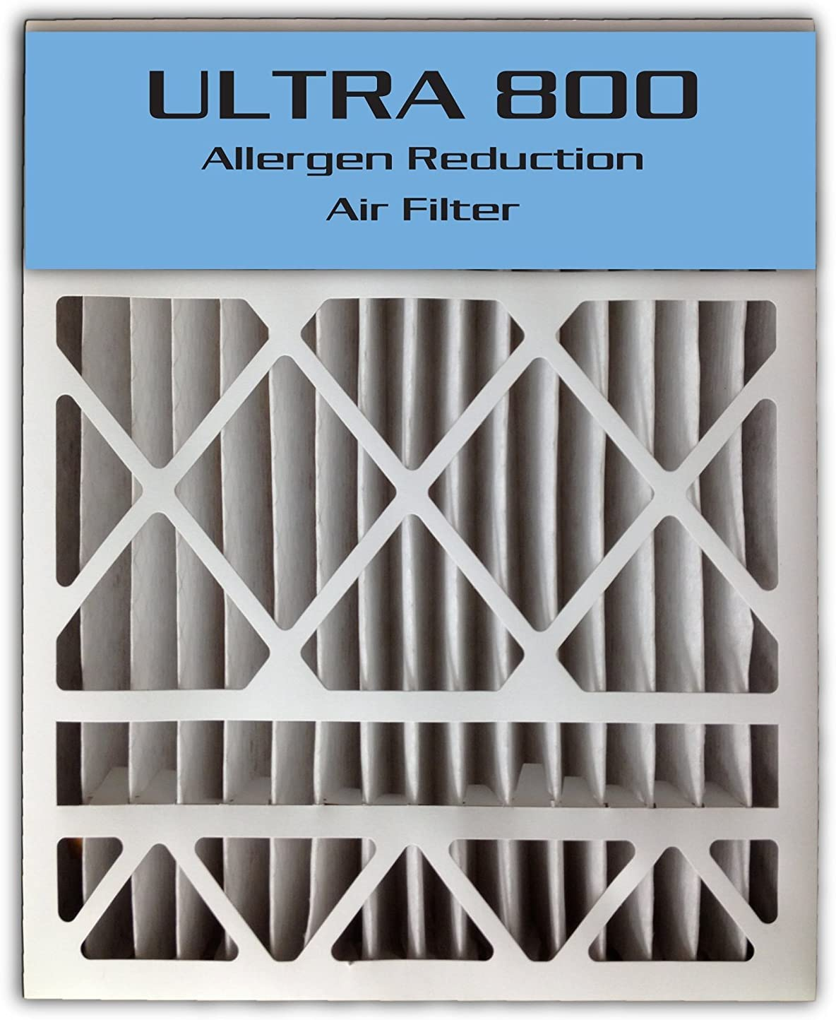 23.8x24.8x4.3 2-Pack ULTRA 800 MERV 8 Bryant Replacement Air Filter 24x25x4//24x25x5
