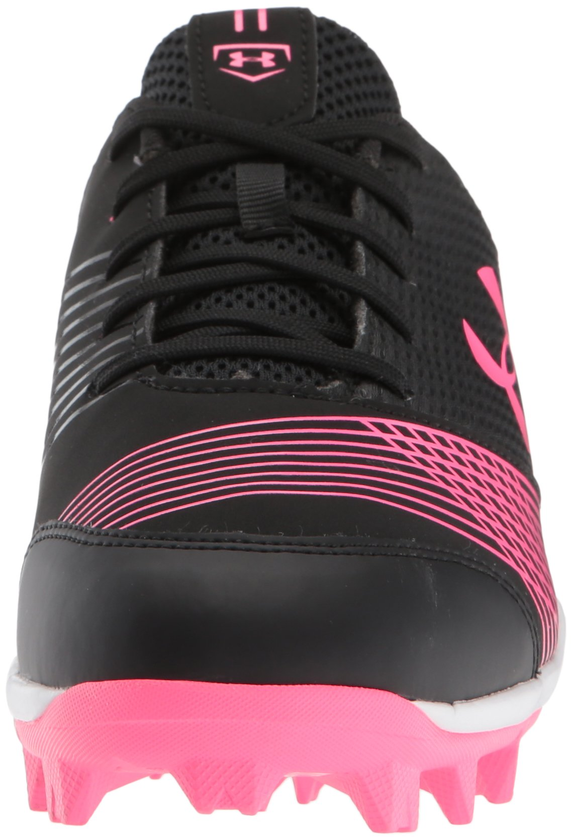 Under Armour Women's Glyde RM Softball Shoe, Black (064)/Cerise, 7 by Under Armour (Image #4)