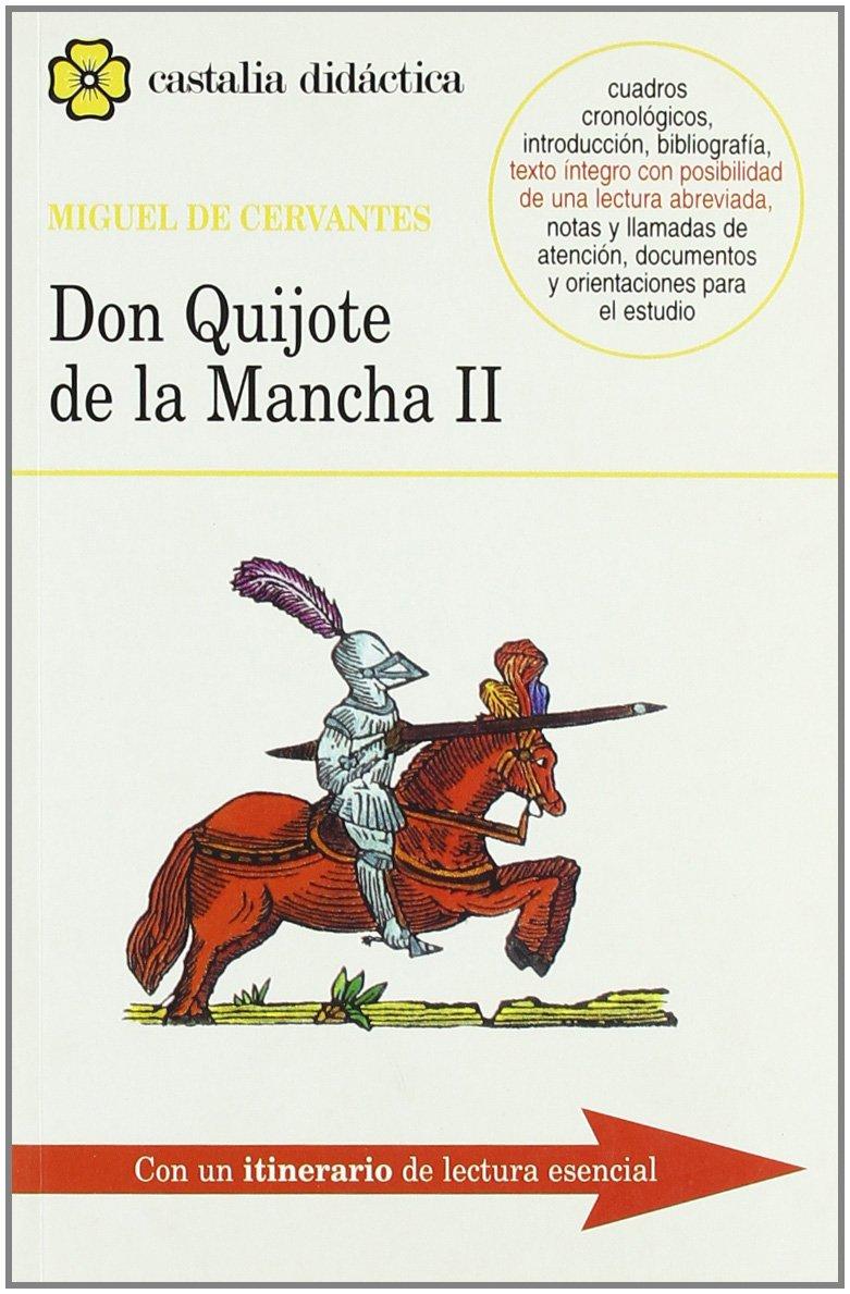Don Quijote de la Mancha I - II 2 Vols. CASTALIA DIDACTICA ...